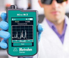 用于原料确认的新一代Mira M-3手持式拉曼光谱仪