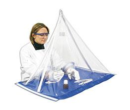 轻便型气密隔离保护罩